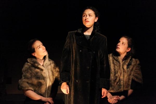 Kathrynne Wolf, Lauren Guglielmello and Molly Fisher