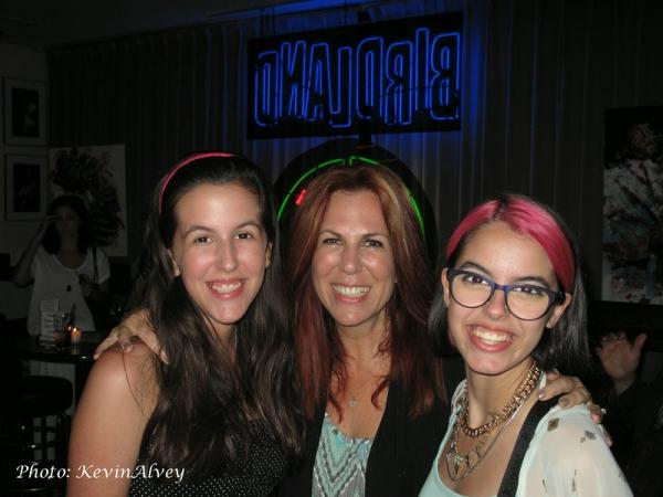 Ava Locknar, Victoria Shaw and Ruby Locknar