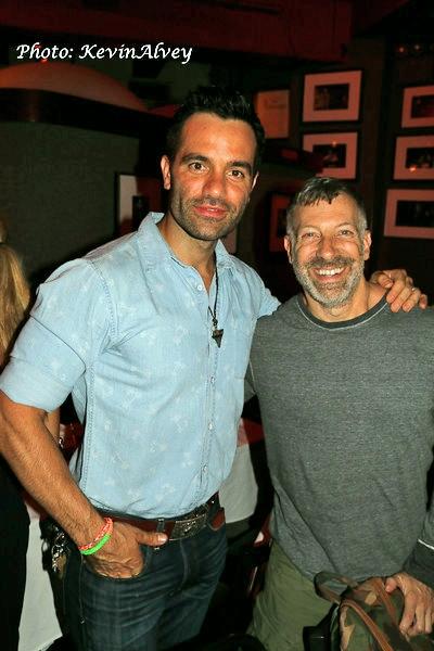 Ramin Karimloo and Barry Jay