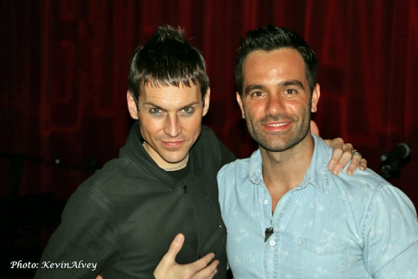 Tony Vincent and Ramin Karimloo
