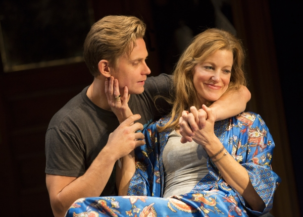 Billy Magnussen and Anna Gunn