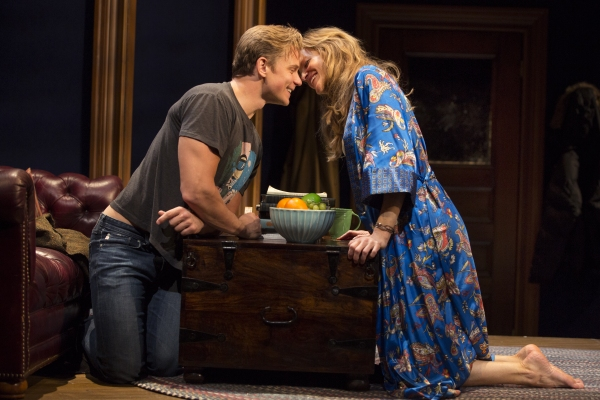 Photo Flash: A Sultry First Look at Anna Gunn and Billy Magnussen in Second Stage's SEX WITH STRANGERS