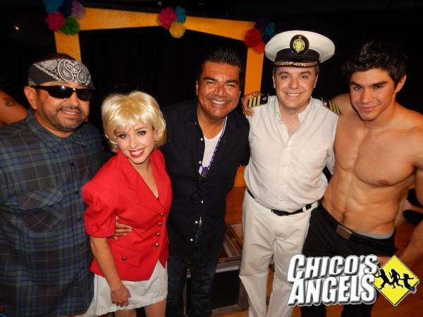 George Lopez with Alejandro Patino, Natalie Lander, Kurt Koehler, Duke Shoman