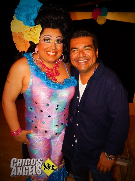 George Lopez with Kay Sedia