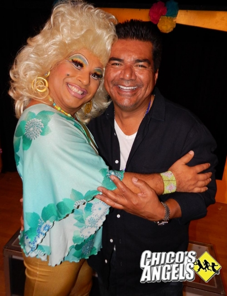 George Lopez with Frieda Laye