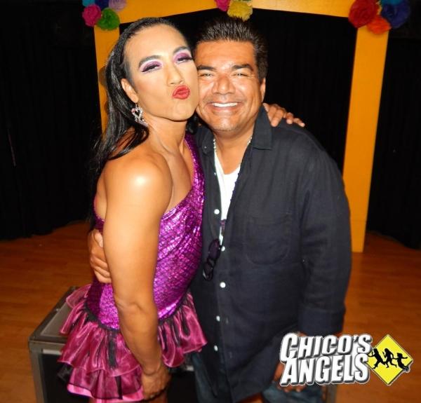 George Lopez with Chita Parole Photo