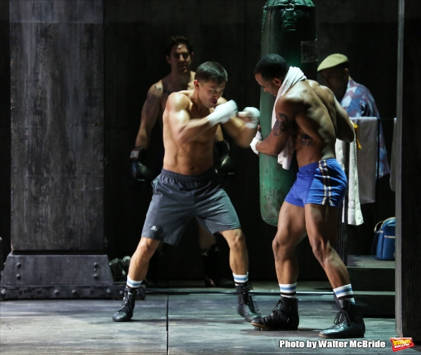 Photo Coverage: Boxing Star Gennady Golovkin's Makes Stage debut in ROCKY!