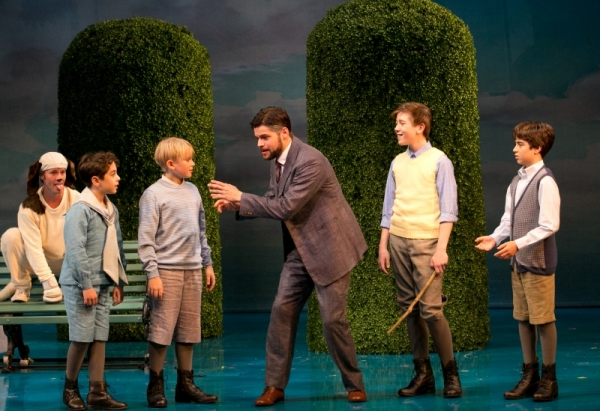 Photo Flash: First Look at Jeremy Jordan, Laura Michelle Kelly and More in Broadway-Bound FINDING NEVERLAND at A.R.T.