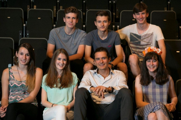 Photo Flash: Orlando Bloom Visits The Marlowe Theatre