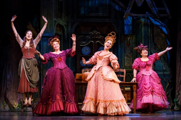 Photo Flash: First Look at Nancy Opel & Paige Faure in CINDERELLA!