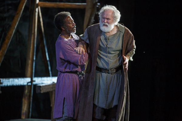 Clarke Peters and John Lithgow