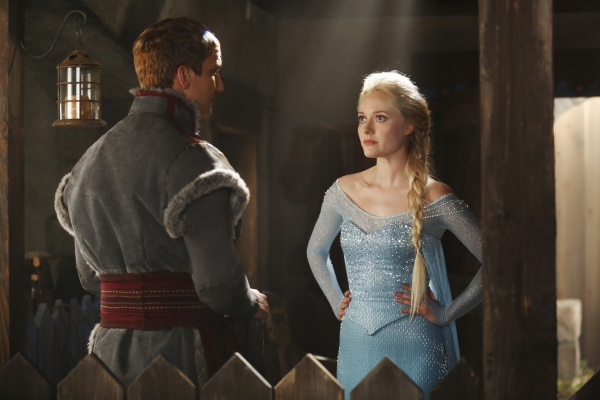 Photo Flash: First Look at Georgina Haig as FROZEN's 'Elsa' on ONCE UPON A TIME!