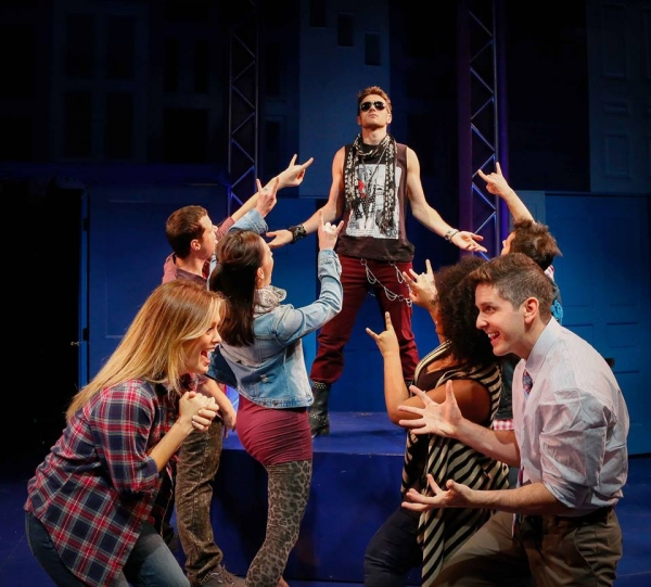 Justin Matthew Sargent and the Cast