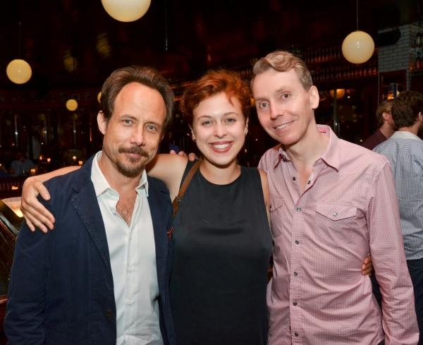 Alex Draper, Tosca Giustini and Jonathan Tindle Photo