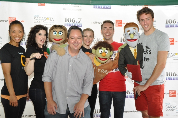 Photo Coverage: Casts of BULLETS, CINDERELLA, PHANTOM & More Visit BROADWAY IN BRYANT PARK!