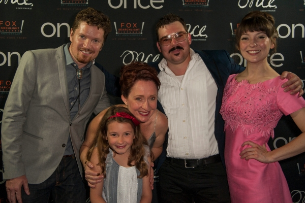 Ryan Link, Donna Garner, Matt Wolpe, Tiffany Topol (front) and Kolette Tetlow