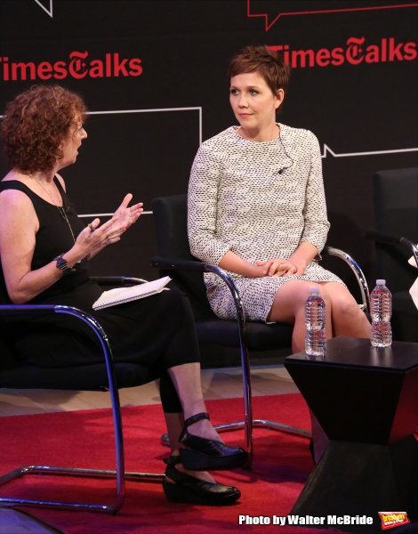 Patricia Cohen and Maggie Gyllenhaal