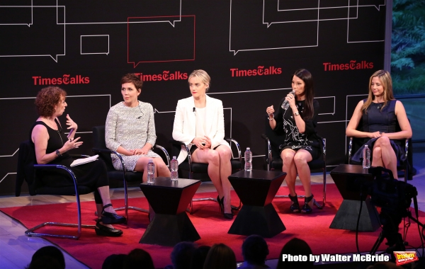 Photo Coverage: Maggie Gyllenhaal, Taylor Schilling, Lucy Liu and Mira Sorvino Visit TIMESTALKS