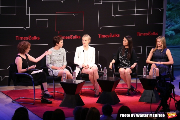 Patricia Cohen, Maggie Gyllenhaal, Taylor Schilling, Lucy Liu and Mira Sorvino