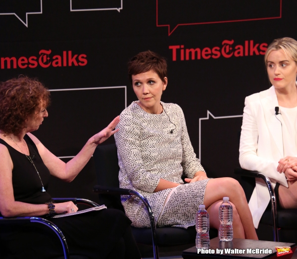 Patricia Cohen, Maggie Gyllenhaal and Taylor Schilling