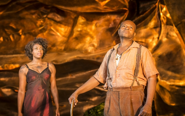 Photo Flash: First Look at Rufus Bonds, Jr., Nicola Hughes and More in Open Air Theatre's PORGY AND BESS