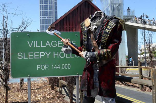 VIDEO: FOX's SLEEPY HOLLOW Comes to Comic Con with Oculus Rift Experience