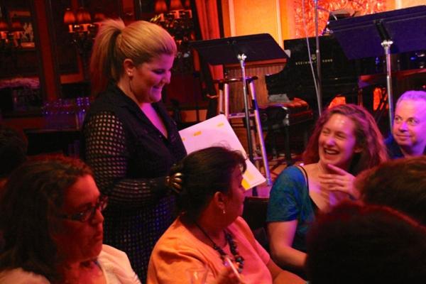 Photo Flash: Inside VILLAIN: DEBLANKS at 54 Below with Barrett Foa, Lesli Margherita, Nancy Opel & More