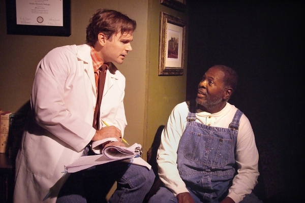 Photo Flash: First Look at VISIONARY MAN, Opening Tomorrow at the Hudson Theatre