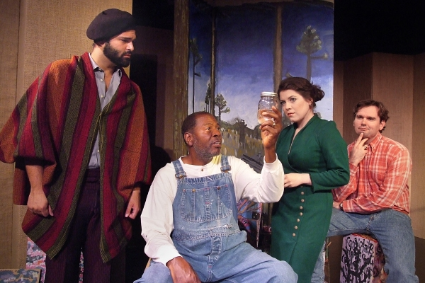 Photo Flash: First Look at VISIONARY MAN, Opening Tomorrow at the Hudson Theatre