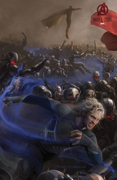 Photo Flash: Marvel Unveils New AVENGERS: AGE OF ULTRON Concept Posters