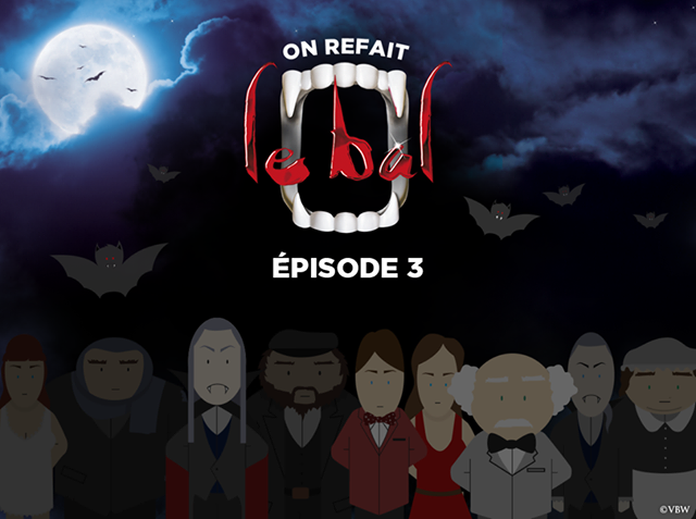 Episode 3 Of New DANCE OF THE VAMPIRES Digital Comic Book