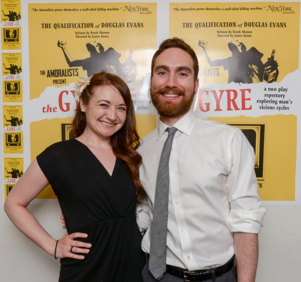 Photo Flash: The Amoralists' THE GYRE Opens at Walkerspace