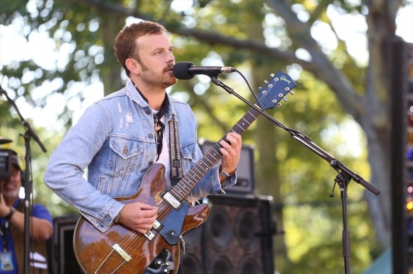 Photo Flash: Kings of Leon Perform on GMA's Summer Concert Series