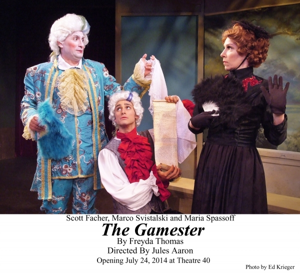BWW Reviews: Tour De Force Fabulous French Farce THE GAMESTER at Theatre 40