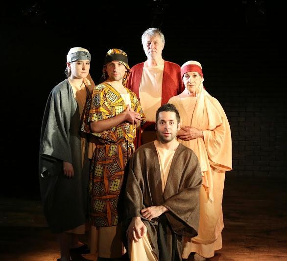 Janine Hegarty, Hazen Cuyler, Mitch Tebo, Ramzi Khalaf (kneeling), and Judy Rosenblatt