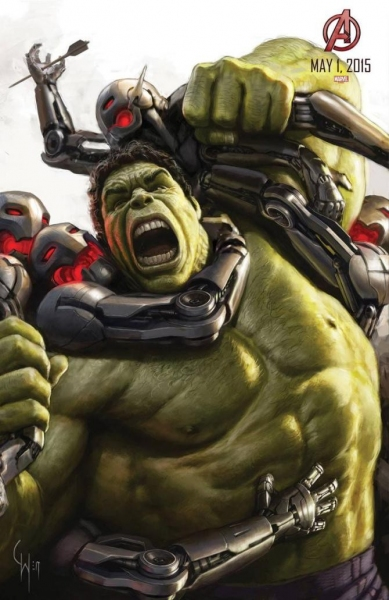 Photo Flash: Full Poster of Marvel's AVENGERS: AGE OF ULTRON Finally Revealed