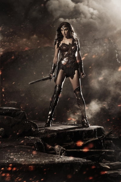Photo Flash: First Look at Gal Gadot as Wonder Woman in Zack Snyder's BATMAN VS. SUPERMAN