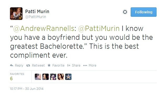 'Will You Accept This Final Rose?' Patti Murin to Guest-Recap BACHELORETTE Finale for BWW TV