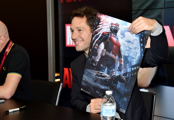 Photo Flash: Cast of Marvel's ANT-MAN at Comic-Con's Booth Signings