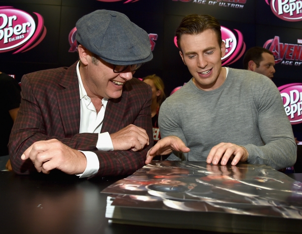 James Spader;Chris Evans