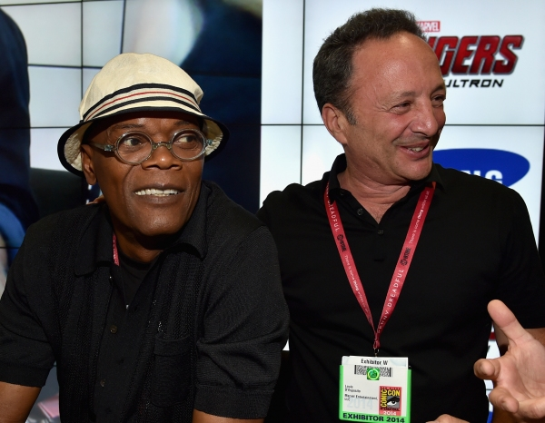 Photo Flash: Cast of Marvel's AVENGERS: AGE OF ULTRON at Comic-Con Booth Signings
