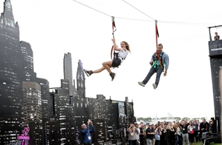 Photo Flash: Cast of FOX's GOTHAM Take Flight at Comic Con 2014