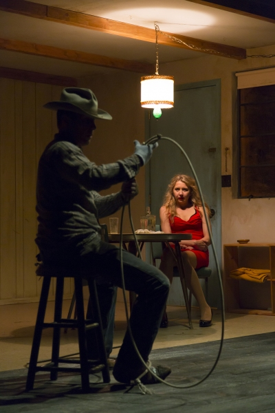 Photo Flash: First Look at Sam Rockwell and Nina Arianda in Williamstown Theatre Festival's FOOL FOR LOVE