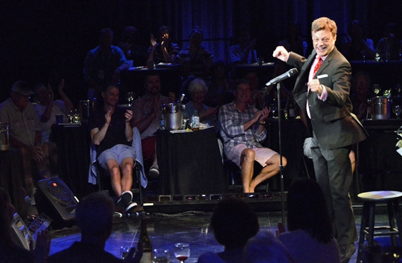Photo Flash: Billy Stritch and Jim Caruso Duet at the O'Neill Center's 2014 Cabaret Conference