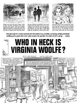 MAD Magazine's Vintage Parodies Of WEST SIDE STORY & WHO'S AFRAID OF VIRGINIA WOOLF?