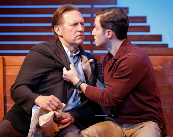 A scene from The Mulberry Bush by Neil Labute, directed by Maria Mileaf with Victor S Photo
