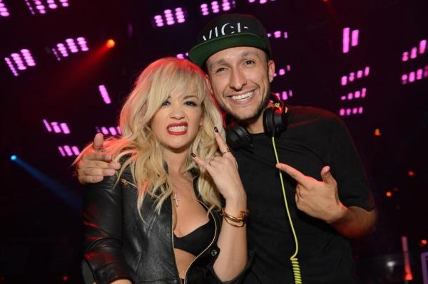 Rita Ora and DJ Vice