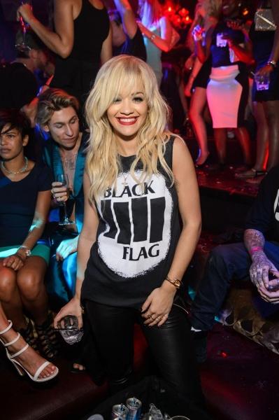 Photo Flash: Genevieve Morton and Rita Ora Appear at TAO in Las Vegas