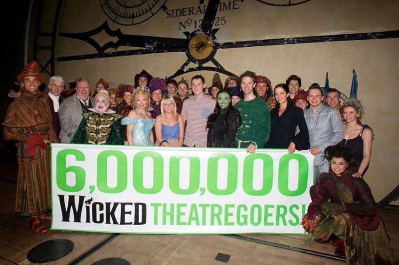 WICKED UK Celebrates 6 Million Theatregoers To Date