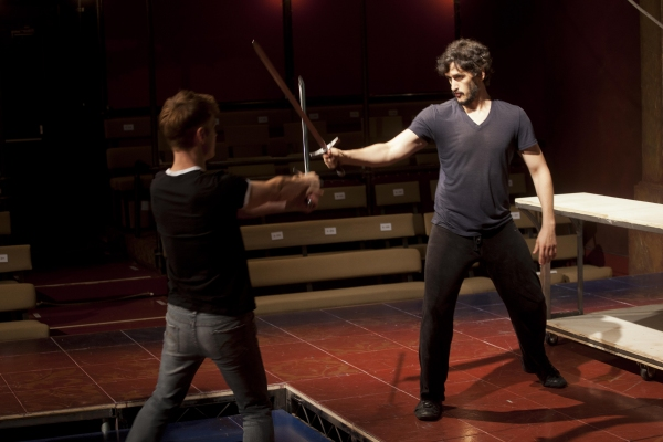 Photo Flash: In Rehearsal with Jonathan Epstein's Adaptation of HENRY IV at Shakespeare & Company